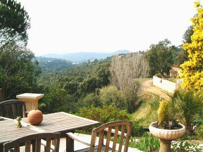 Photo for A French Riviera Air Cond. Villa with a Breathtaking View of Valcros Vallée