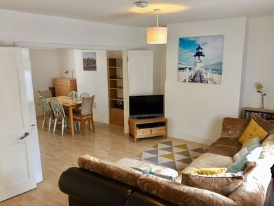 Photo for BOURNECOAST: HOLIDAY HOME IN TOWN CENTRE- WALK TO THE SHOPS/SANDY BEACHES-HB6085