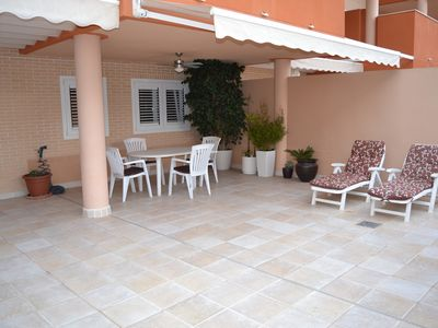 Photo for New apartment with large terrace with access to 200 mtrs. Beach