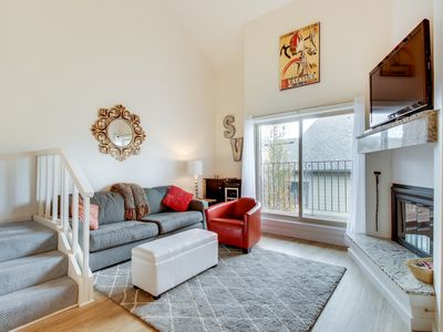Photo for Sophisticated studio w/ hot tub, golf course, and shared pool access!