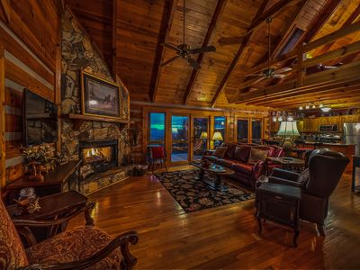 Photo for Rocky Top- Pet Friendly | Long Range Mountain Views | Screened Porch