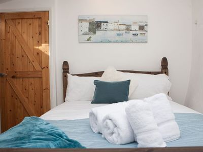 Photo for The Drift, Cyrill Noall Square - Converted Pilchard Press One Bedroom Loft - Central St Ives