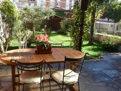 Photo for Nice apartment with garden!