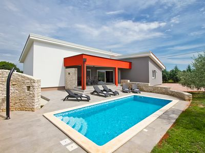 Photo for Modern villa with pool in Istria 1835
