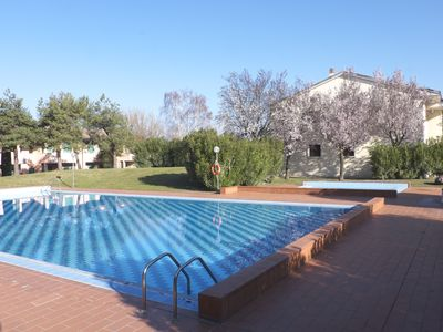 Photo for Apartment in residence with private garden and swimming pool for adults and children and tennis