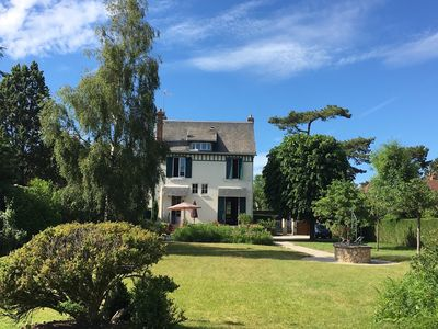 Photo for Very Charming House in Deauville,910 people, close to the sea -Normandy-FRANCE