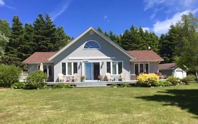 Photo for Newly Renovated, Open Concept, Cottage in Stanhope. Water and Golf Course Views!