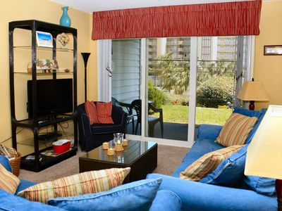 Photo for 2 Bedroom 2 bath Condo on the 1st Floor; Grilling Area