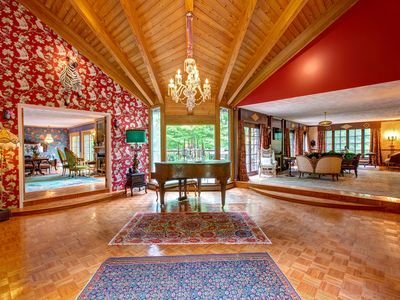 Photo for Catskills Tranquil Escape Villa in Roxbury NY Summer Rental 2.5 hours from GWB