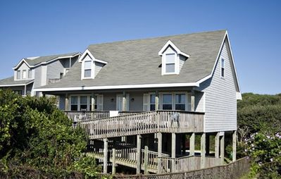 Photo for BE RIGHT BACK: 4 BR / 3.5 BA, ocean view in Topsail Beach, Sleeps 8