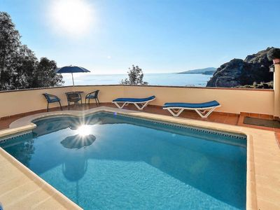 Photo for 2 bedroom Villa, sleeps 4 in Maro with Pool, Air Con and WiFi
