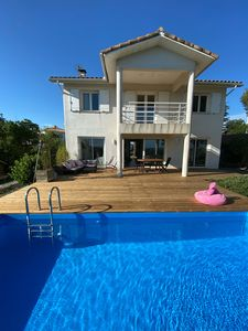 Photo for Beautiful House On The Heights Of Portiragnes