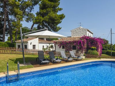 Photo for Large and classic villa in Javea, on the Costa Blanca, Spain  with private pool for 18 persons