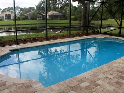 Photo for Waterfront Pool Home In Pga Village