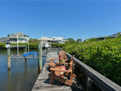 Photo for Enjoy Pelican Cove, its private pool, and boat dock! September Savings!!