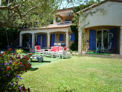 Villa in the shelter of the glances - Unusual swimming pool and air  conditioning close to the sea - Saint-Vincent-de-Barbeyrargues