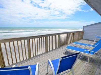 Photo for Queens Grant E-216 - Oceanfront Condo with Community Pool and Boat Ramp
