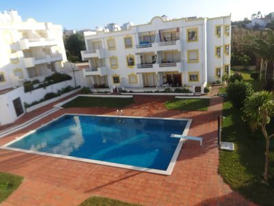 Photo for Fantastic Sea View, 2 bedroom apart, Walking distance to Beach, Balcony & pool