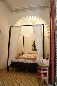 Photo for RIAD in the heights of the Medina of TANGER - Bridal room