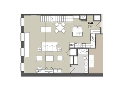 Photo for Two Story Loft with Private Sky Deck Access