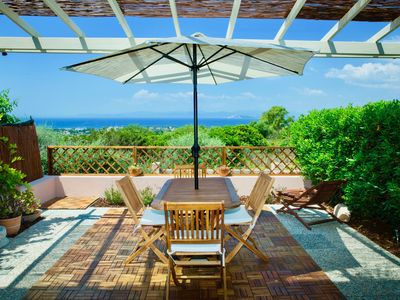 Photo for Lovely home with spectacular ocean view in Sardinia!