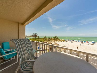 Photo for Direct Beachfront Luxury Suite - Balcony Beach and Gulf Views - Free WiFi - Beach Place