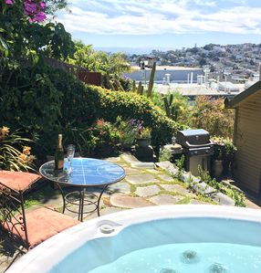 Photo for Relaxing Home with Sweeping Views, Chef's Kitchen and Hot Tub in Center of SF