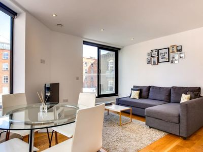 Photo for Chic 1bed sleeps 3 in Old Street 10 mins from tube