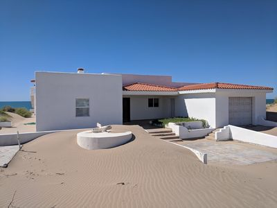 Photo for Beautiful 4 bedroom beach home with incredible rooftop terrace!