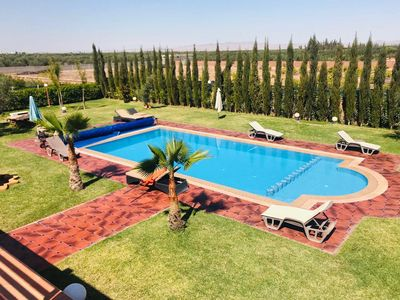 Photo for Superb villa in Marrakech 4435