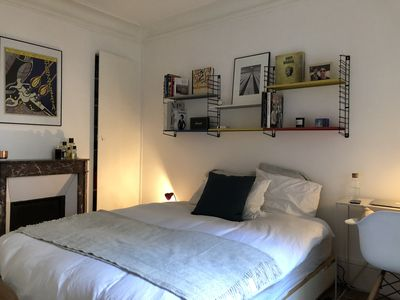 Photo for BRAND NEW CHARMING PARISIAN APARTMENT NEAR MONTMARTRE FOR 2