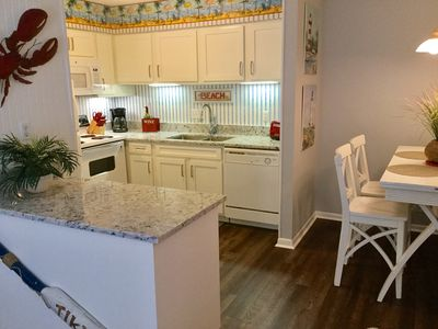 Enjoy a mean 'in' with a fully stocked kitchen