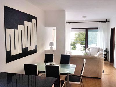 Photo for Pleasant 2BR flat w/huge terrace & panoramic view