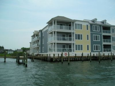 Sunset Bay Villas on Chincoteague Island Waterfront Condo