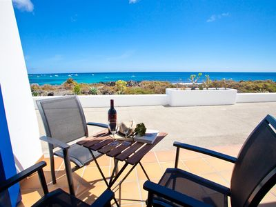 Photo for Casita Galan with Sea Views 10 meters from the Sea