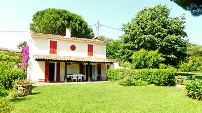 Photo for Family home – very large garden a few minutes away from the sea