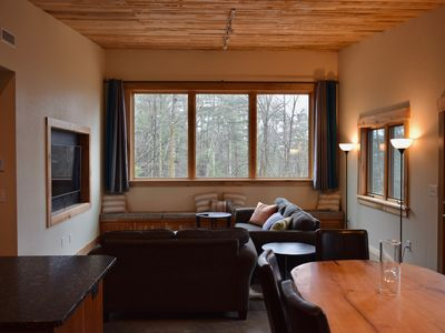 Photo for Contemporary passive solar house,  private setting, 14 mi from Asheville
