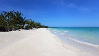 Photo for 4  beach homes |3 Miles white sand | beach front | Family friendly |south andros