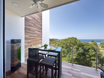 Photo for Dramatic Brand New Penthouse! Sweeping Ocean Views! Sunset Blvd, Jaco Beach.
