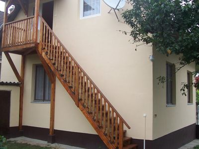 Holiday apartment 700 m from the sandy beach
