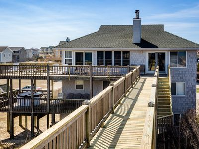 Photo for August Rush | Oceanfront | Dog Friendly, Hot Tub
