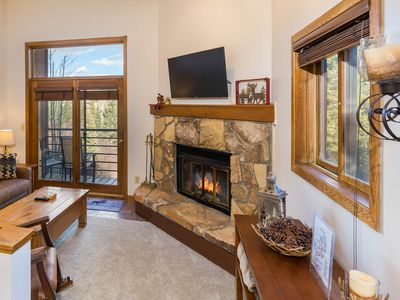 Photo for 1-bedroom Condo in Silverthorne, Private Balcony, Scenic Views, Free WIFI