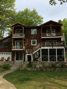 Photo for Family-Friendly 5 BR Waterfront on Lake Waukewan in Meredith