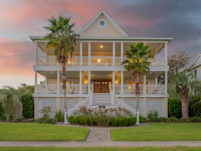 Photo for Southern Charm on Isle of Palms ~ Luxury Home, Private Pool, Ocean Views!