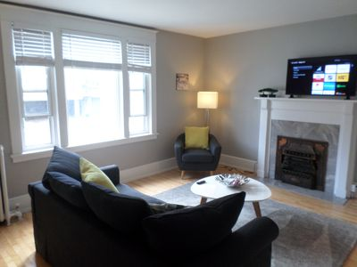 Photo for Beautiful,Clean,Quiet 2 BR,In Downtown Ottawa.Parking, WiFi and Netflix included