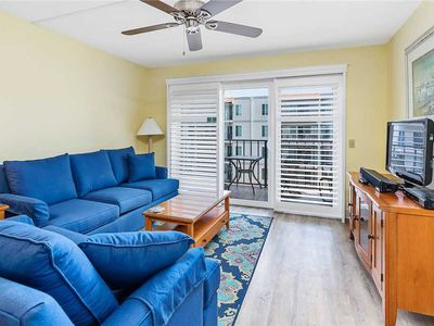 Photo for Oceanfront Condominium Perfect for Small Groups! Amenities Include Pool, Beach Access!