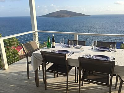 Photo for Carefree Villa - Relax with a view in sunny Caribbean breezes
