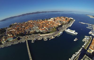 Photo for House 543 m from the center of Zadar with Internet, Terrace (199727)