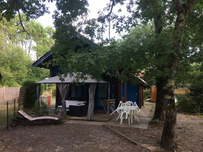 Photo for Pleasant chalet any comfort bassin d'Arcachon