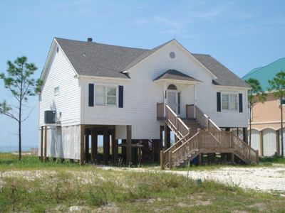 Photo for 4BR Beachfront Home on Dauphin Island's East End